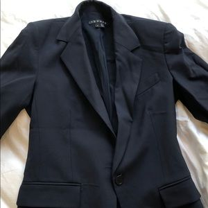 Theory navy blue suit blazer
